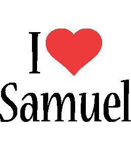 Samuel i-love logo