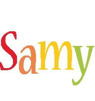 Samy birthday logo