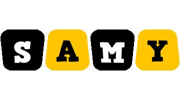 Samy boots logo