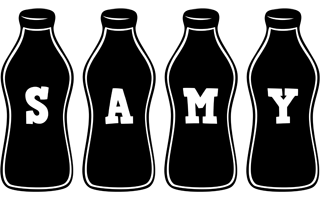 Samy bottle logo