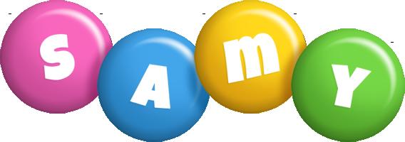 Samy candy logo