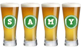 Samy lager logo