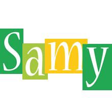 Samy lemonade logo