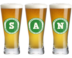 San lager logo