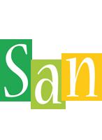 San lemonade logo