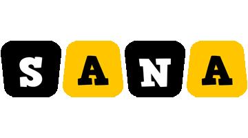 Sana boots logo