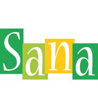 Sana lemonade logo