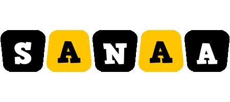 Sanaa boots logo