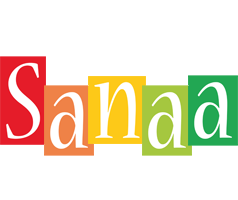 Sanaa colors logo