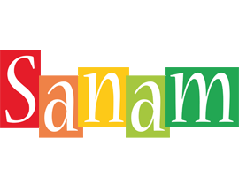 Sanam colors logo
