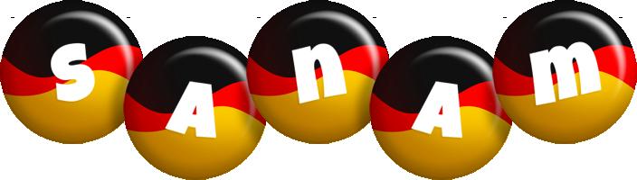 Sanam german logo