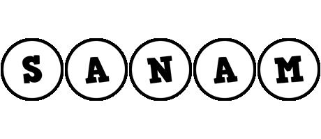 Sanam handy logo