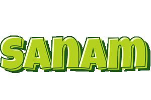 Sanam summer logo