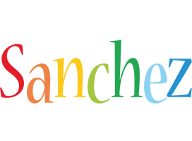 Sanchez birthday logo