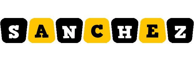 Sanchez boots logo