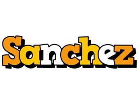Sanchez cartoon logo