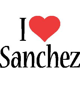 Sanchez i-love logo