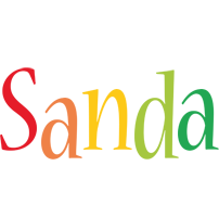 Sanda birthday logo