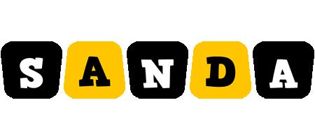 Sanda boots logo