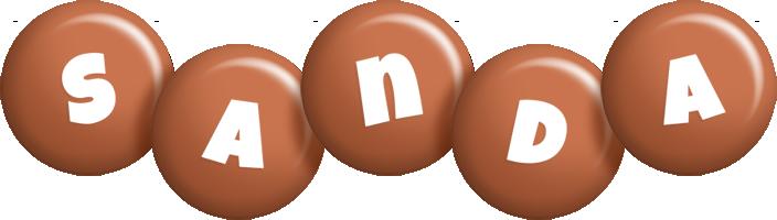 Sanda candy-brown logo