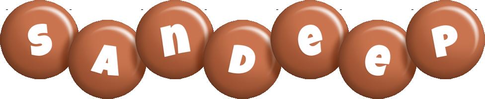 Sandeep candy-brown logo