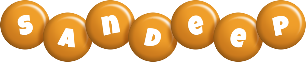 Sandeep candy-orange logo