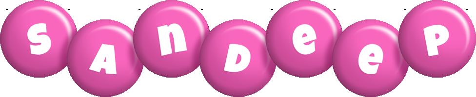 Sandeep candy-pink logo