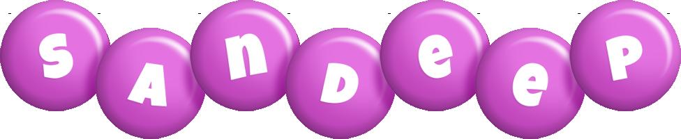 Sandeep candy-purple logo