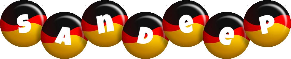 Sandeep german logo