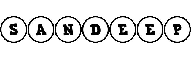Sandeep handy logo