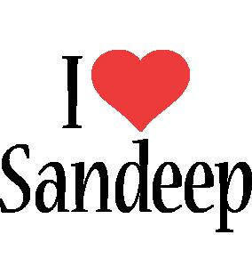 Sandeep i-love logo