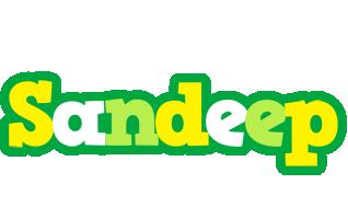 Sandeep soccer logo
