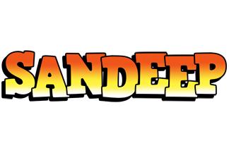 Sandeep sunset logo