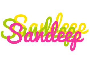 Sandeep sweets logo