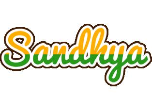 Sandhya banana logo