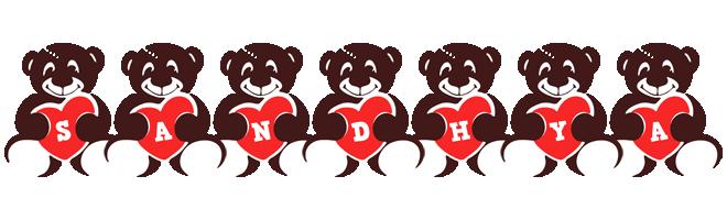 Sandhya bear logo