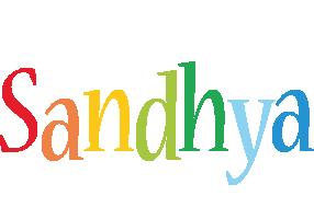 Sandhya birthday logo