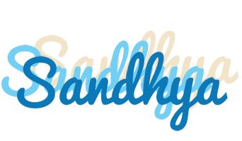 Sandhya breeze logo