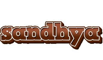 Sandhya brownie logo