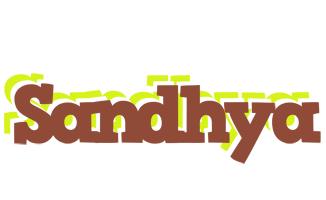 Sandhya caffeebar logo