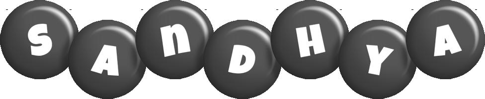 Sandhya candy-black logo