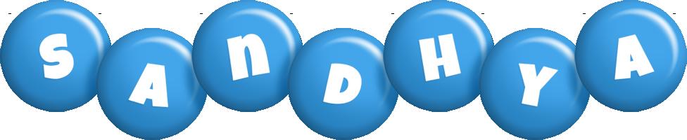 Sandhya candy-blue logo