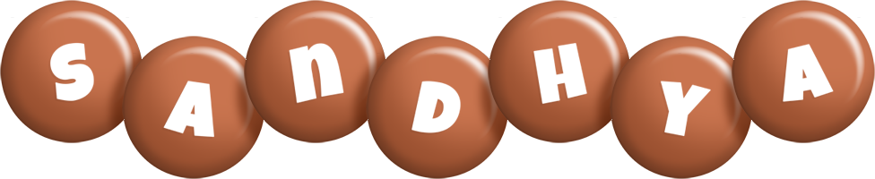Sandhya candy-brown logo