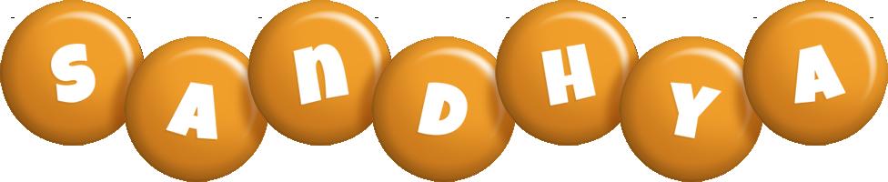 Sandhya candy-orange logo