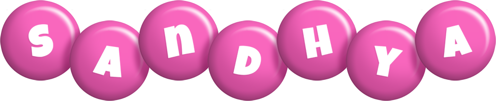 Sandhya candy-pink logo