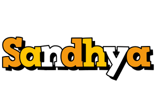 Sandhya cartoon logo