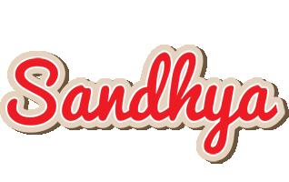 Sandhya chocolate logo