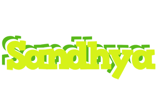 Sandhya citrus logo