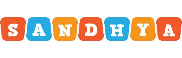 Sandhya comics logo