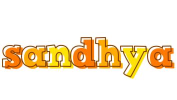 Sandhya desert logo